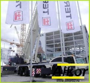 новый автокран Terex Explorer 580
